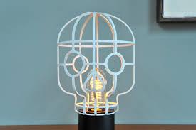 artsy lighting. Orphee-skull-lamp Artsy Lighting