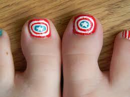 Toe Nail Art Designs For Beginners Simple Toenail Designs For ...