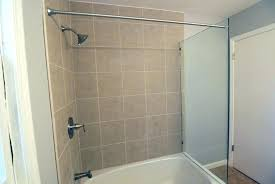 tub shower wall panels gallery shower doors tub shower with glass panel and shower curtain rod tub shower wall panels