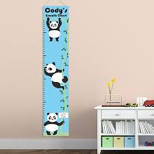 Personalized Growth Height Chart Personalized Panda