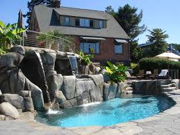 inground pools with waterfalls and hot tubs. Inground Pools With Waterfalls And Hot Tubs M