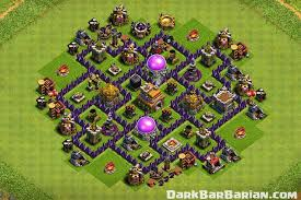 Base 7 New Ultimate Th7 Hybrid Trophy Defense Base 2019 Town