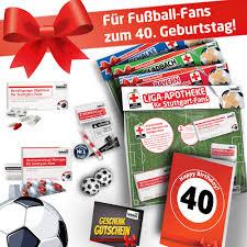 40 Geburtstag Bundesliga Notfall Set Die Ligapotheke Für 42 Top