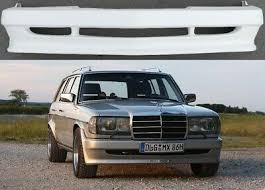 However, i would love to have an identical amg w123 body kit. Mercedes Benz W123 Bumper Spoiler Amg Replica Bodykit Lip Sideskrts Ebay
