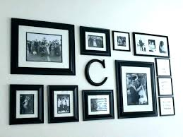 large photo collage frame metal frames picture our in heart multi wall australia