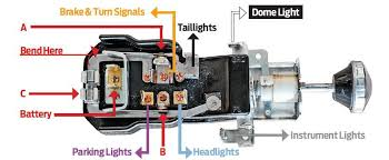 jeep headlight switch wiring diagram how to test a headlight switch with a multimeter at Chevy Headlight Switch Wiring Diagram