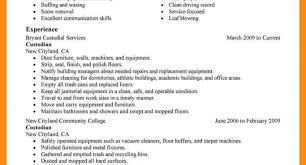 Fine Resume For Cleaners Ideas Documentation Template Example