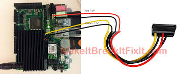 complete media system part 2 [hardware and os] \u003e make it, break sata power wiring diagram at Sata Cable Wiring Diagram