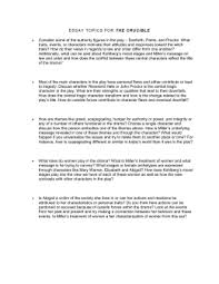 puritan literature unit test review handout test date  essay topics for the crucible
