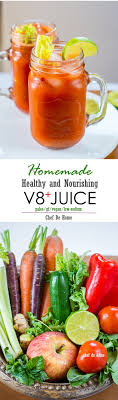v8 juice plus is a healthy and homemade vegetable juice for a healthy start of the