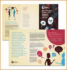 Microsoft Word Pamphlet Brochure Template Microsoft Word Toddbreda Com