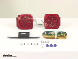 compare vs submersible under etrailer com video of submersible under 80 led trailer light kit 25 wiring harness