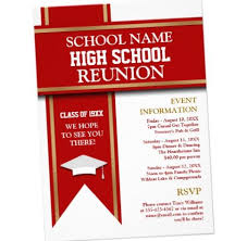 Education Service - High School Reunion Speech Sample