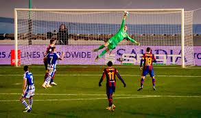 Суперкубок Испании. Реал Сосьедад - Барселона 1:1; пен.: 2:3. Максимально  усложненный маршрут ᐉ UA-Футбол