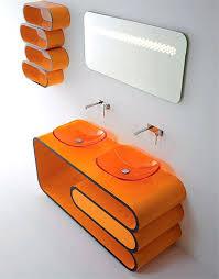 modern orange furniture. modern orange bathroom furniture i