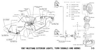 1967 mustang wiring and vacuum diagrams average joe restoration 1968 mustang alternator wiring diagram at 68 Mustang Wiring Diagram