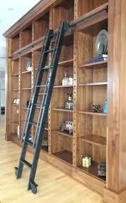 rolling bookshelf ladder splendid custom steel library design shelves with diy bookcase bookshe