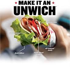 Unwich Info Jimmy Johns Gourmet Sandwiches