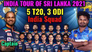 India vs Sri Lanka Series 2021