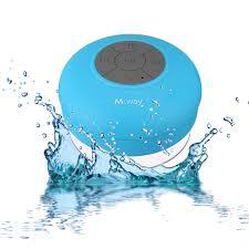 speakers bluetooth waterproof. m way bathroom stereo speaker bluetooth waterproof speakers