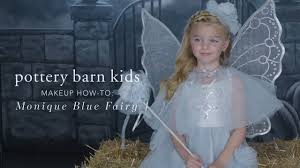 easy makeup tutorial blue fairy costume for pottery barn kids