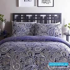 luxury topaz paisley duvet cover set bedding from yorkshire linen fuengirola marbella spain