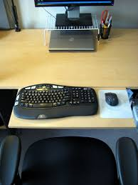 picture of adjule keyboard platform desk extension