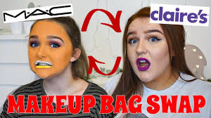 makeup bag swap with a 13 year old