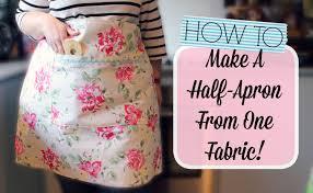 Half Apron Pattern