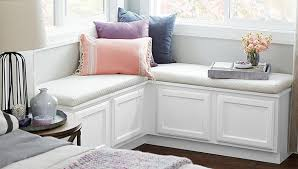 Corner BenchBench With Padded Seat