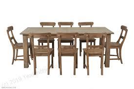 Teak Esstisch Ausziehbar 200 250 300x100 12 Stühle Teakmöbelcom