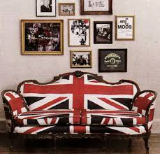british flag furniture. Another Great Showcase Of The British Flag Pictured In Now-defunct Domino Magazine. Furniture