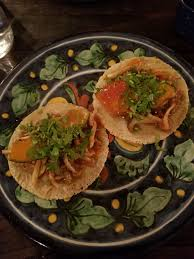 vegan tacos at mexican kitchen bar mu in osaka