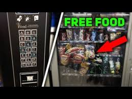 Free Food Vending Machine Code Interesting HOW TO MAKE ANY VENDING MACHINE PAY YOU GET FREE MONEY YouTube