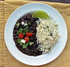 Latino and black homemade