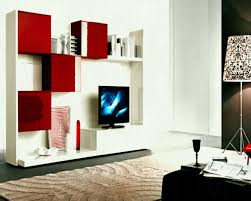 lcd wall unit designs for hall with wallpaper bold idea interior design living room modern tv