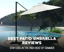 best patio umbrella reviews cantilever uk guide