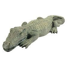 Lighted Alligator Lawn Ornament Design Toscano The Swamp Beast Lawn Alligator Crocodile Garden Sculpture 37 Inc