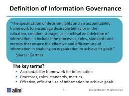 What Is Information Governance