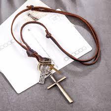Krásný Přívěsek Na Krk Křížek S Citátem