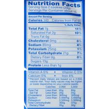 double stuff oreos nutrition facts
