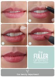 makeup beautician magician a voluminous lip illusion