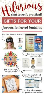 funny travel gifts that are secretly practical hilarious gifts for your travel buds