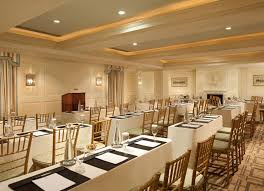 Classic Restaurant Interior Design Carlyle Meeting Room