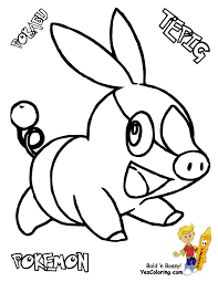 Sharp Pokemon Black White Coloring | Victini - Swoobat |Free ...