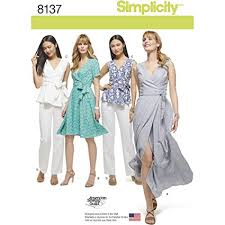 Plus Size Patterns Stunning Amazon Simplicity Creative Patterns 48 Misses' And Plus Size