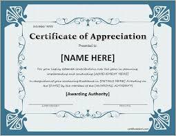 Discreetliasons Com Certificate Of Appreciation For Ms Word