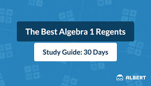 Multiple choice and constructed response. The Best Algebra 1 Regents Study Guide 30 Days Albert Resources
