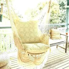 diy macrame hammock chair swing pattern
