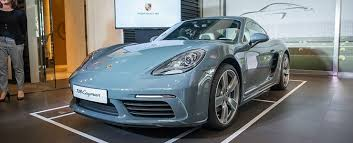 new car launch in singapore 2016The all new Porsche 718 Cayman arrives in Singapore